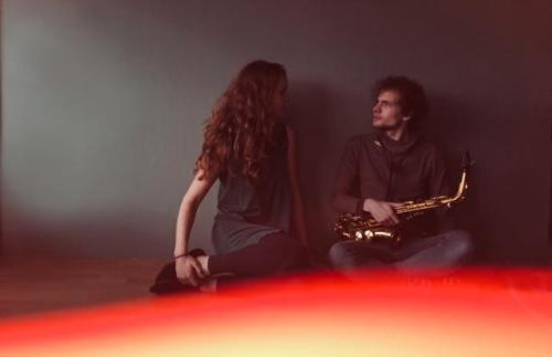 Groep van Twee - saxofoon en zang